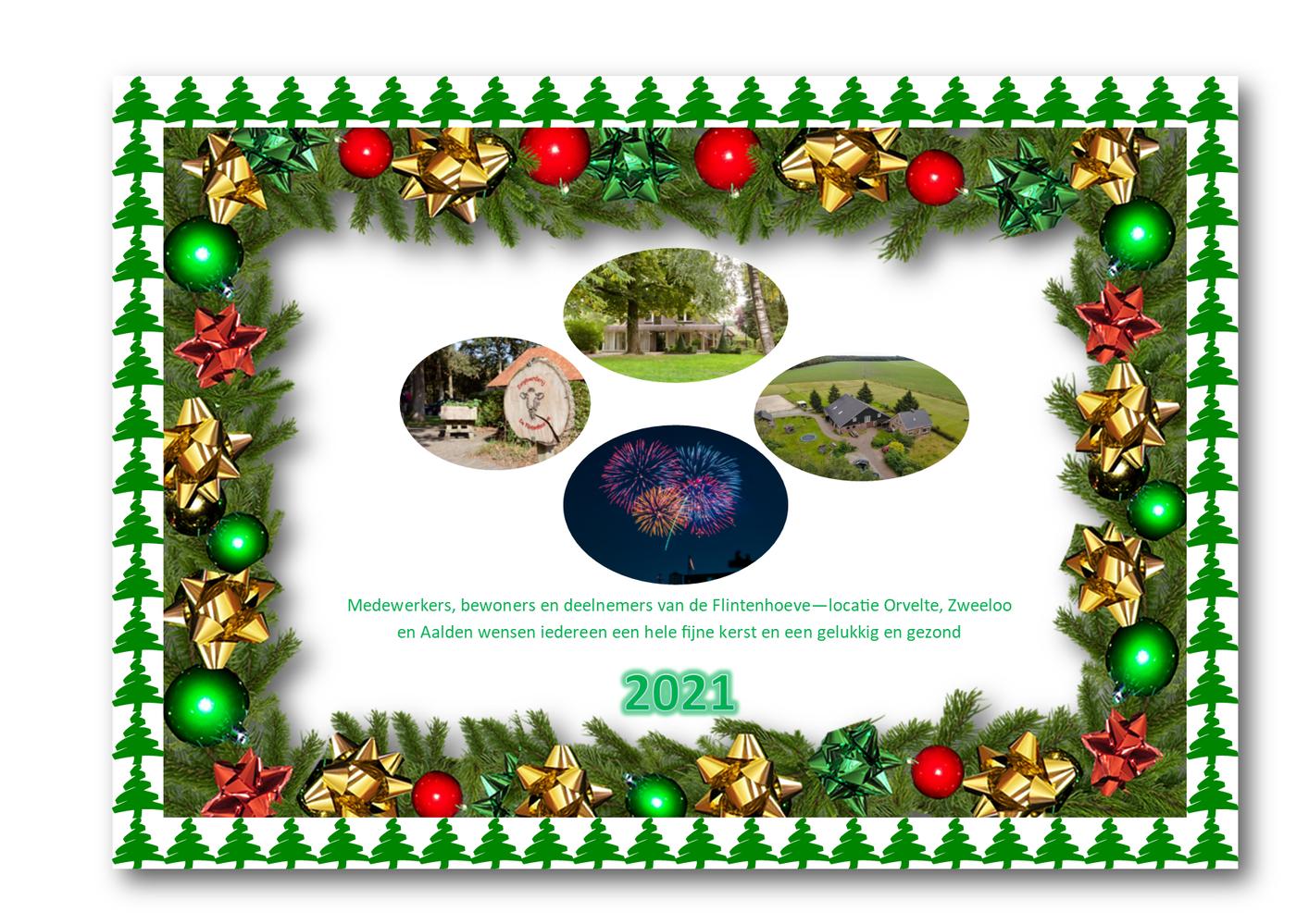 Kerst en nieuwjaarswens 2020